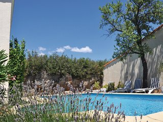 Beautiful home in Poulozs-Minervois w/ Outdoor swimming pool, WiFi and Outdoor s