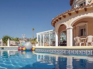 Stunning home in Muntanya de la Sella w/ Sauna, Outdoor swimming pool and 3 Bedr