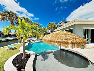 TurnKey - Incredible Canal Home w/ Private Pool & Spa - Near Beach!
