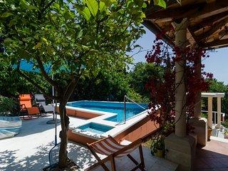 Villa with pool in greenery near beach Mlini Dubrovnik