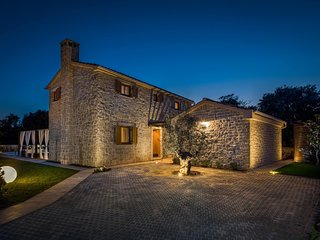 Stone Villa Paula, in Dalmatia, with a Pool