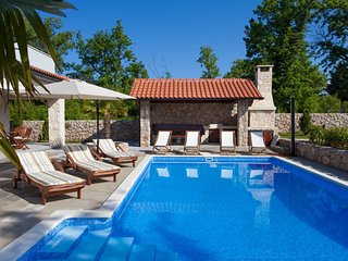 Luxury Villa Gabrijela, on the Island of Krk