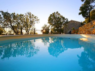 Beautiful Villa Mileti, in Dalmatia, with a Pool