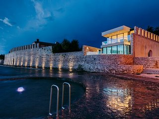 Modern Villa Lorena, in Istria, with a Pool