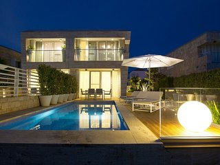 Modern Villa Oleander, in Dalmatia, with a Pool