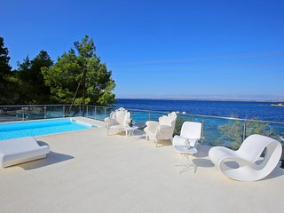 Seafront Villa Borna, in Dalmatia,with a Pool