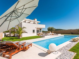Modern Villa White, in Istria, with a Pool