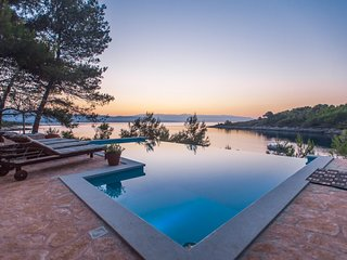 Beautiful Villa Aqua, on the Island of Hvar