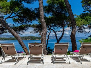 Seafront Villa Ana, on the Island of Hvar