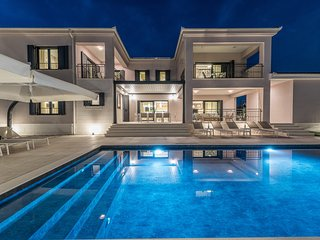 Modern Villa Adora, in Dalmatia, with a Pool