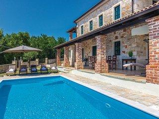 Stone Villa Celine lstria with the pool