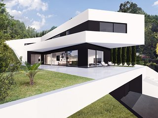 Modern Villa Diva, in Opatija, with a Pool