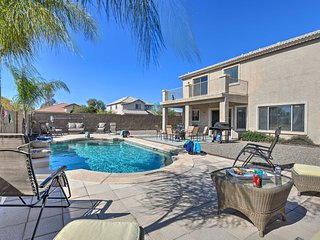 San Tan Valley Home w/ Pool on Golf Course!