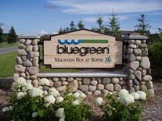 Mountain Run at Boyne, A Bluegreen Resort Sign