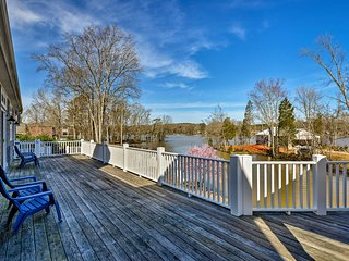 NEW! Upscale Lexington Home w/Dock on High Rock Lk
