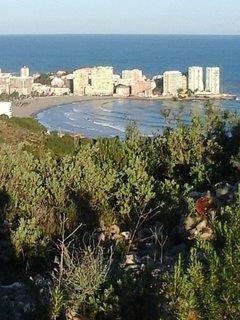 Playa de la Concha desde el mirador