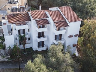 Corfu Room apartments,in a lush greeness hill for piecefull holidays