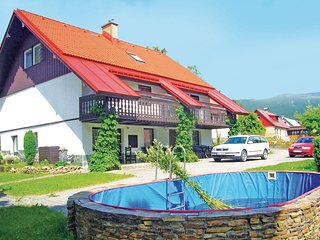 Beautiful home in Rokytnice N. Jizerou w/ 1 Bedrooms, WiFi and Outdoor swimming