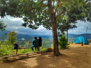 Cottage & Camping(3800ft. Asl.) with panoramic view of forest & paddy fields.
