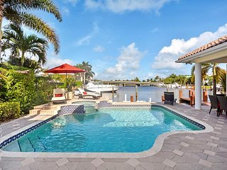 Luxury Waterfront Estate Steps from the Beach