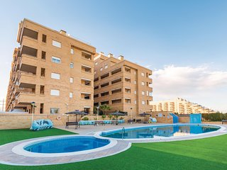 Amazing apartment in Oropesa w/ Outdoor swimming pool, WiFi and 2 Bedrooms