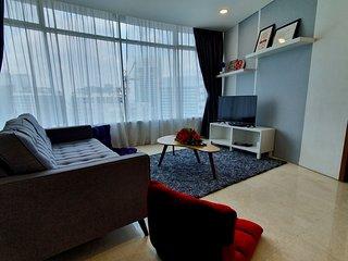 Cozy 2+1 BR High Floor Vortex Suite KLCC
