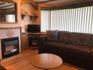 Luxury caravan central heating & double glazing
