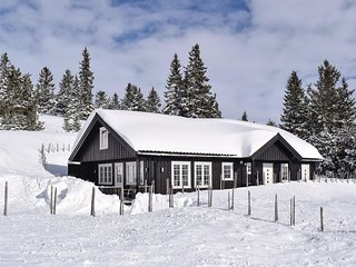 Stunning home in Sjusjøen w/ Sauna and 4 Bedrooms