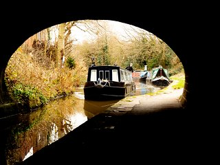 Our narrowboat, Georgia available from Peak Forest Canal, Peak District.