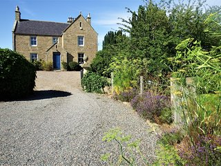 Easter Kintrae House - large rural family holiday home in the Laich of Moray