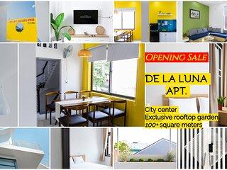 DE LA LUNA- little gem in city center-100+ square meters- exclusive rooftop view
