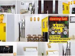 LA LUZ - a little gem in city center - 80+ square meters - exclusive tea balcony