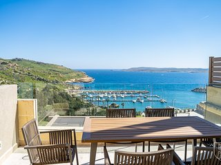 Mgarr Heights - Luxurious Apartment overlooking the Mgarr Harbour