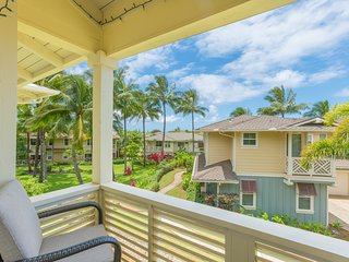 Princeville Condo w/ AC, Pool, Garage, tennis courts, & a walk to the beach! (27