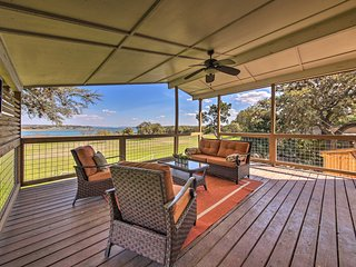 Lakefront Home: Amazing Views, Fire Pit, Game Room