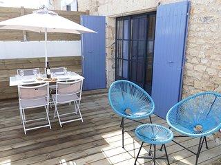 Appartement 2; à 2 pas du Port, plage et centre de la Cotinière.