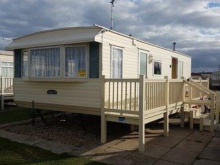 Caravan to rent kingfisher, ingoldmells. 6th berth