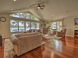 Waterfront Dunnellon House w/Private Dock
