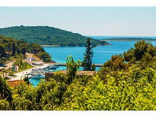 Villa with sea view and pool for rent Maslinica Solta
