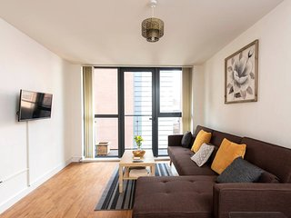 Beautiful Cosy 1BD Apt in Central Manchester