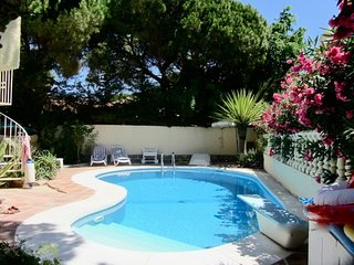 Private Villa Patate with pool in Marbella sleeps 10