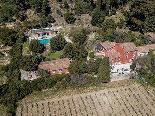 propriete avec piscine  au coeur des vignes de Cassis