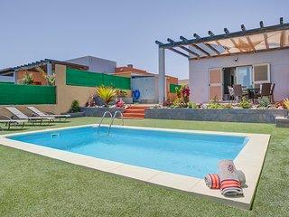 Superbe villa 3 ch. avec piscine privée à Caleta de fuste