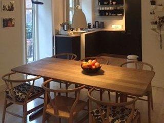 Large 2-level Copenhagen apartment at Noerrebro