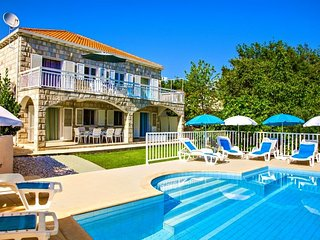 Stone Villa with pool for rent Cilipi Dubrovnik
