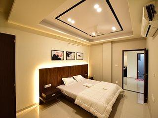 StayEden Service Apartment - 2BHK near Airport