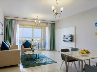 Enjoy the day in Ras Al Khaimah beach and return to your 2 bedroom apartment