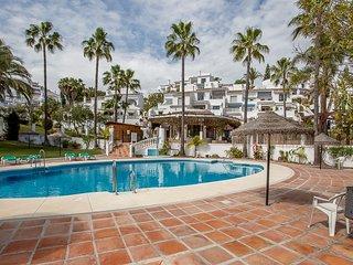 Los Palmas Oasis Capistrana prettiest urbanisation in nerja