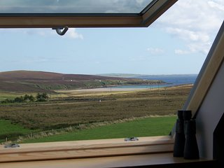 Summerdale Self catering, Orphir, ORKNEY with Seaview