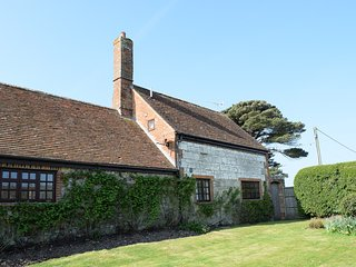 Grade II listed character cottage on owners farm, private garden, close to sea